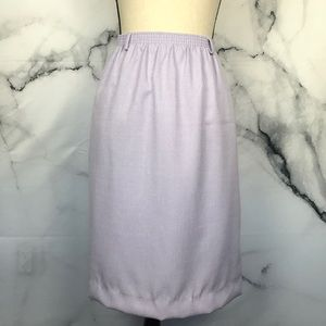 VINTAGE purple pencil skirt w/ pockets size 16